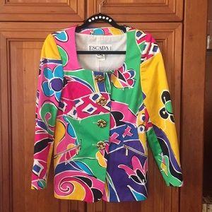 Escada by Margaretha Ley jacket size 6
